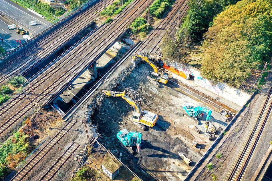 Brückenarbeiten: A40-Vollsperrung für zehn Tage beginnt heute Abend