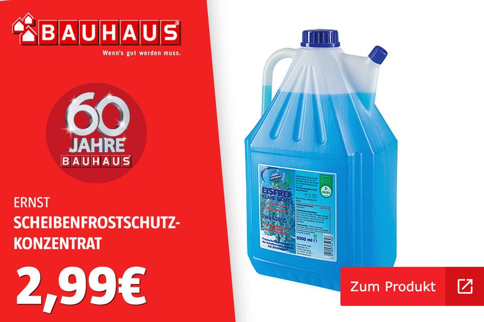 Scheibenfrostschutz-Konzentrat für 2,99 Euro.