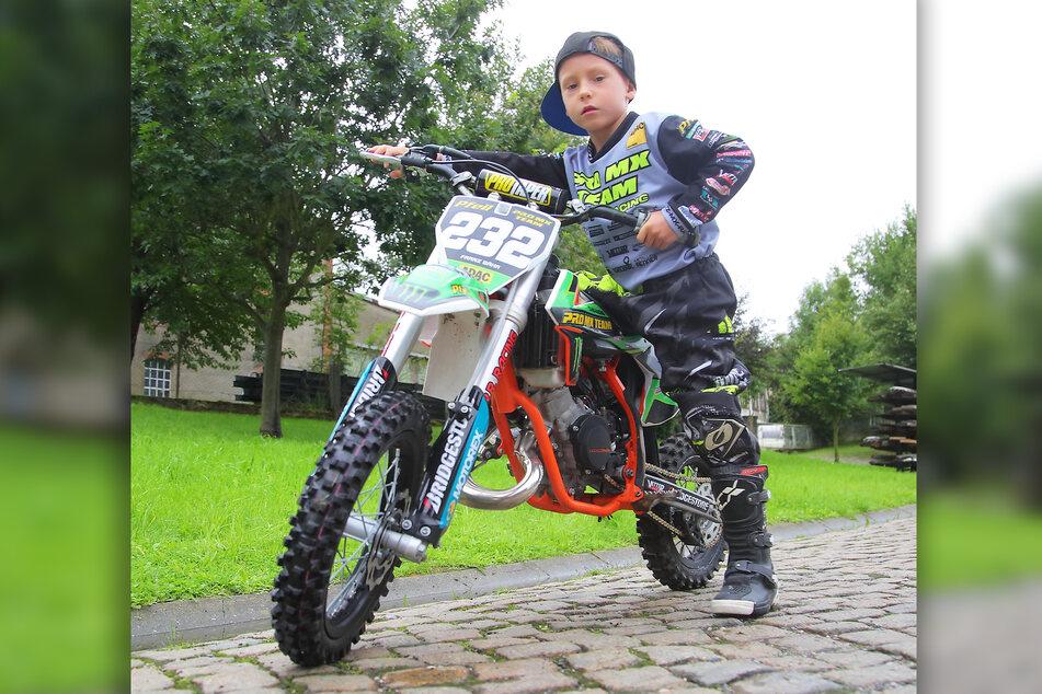 Fies! Einbrecher klauten Franz (6) seine KTM.