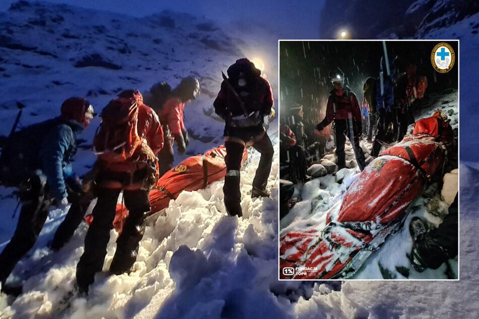 Deutsche Touristen stecken in der Hohen Tatra in der Klemme: Rettungseinsatz dauert zwölf Stunden!