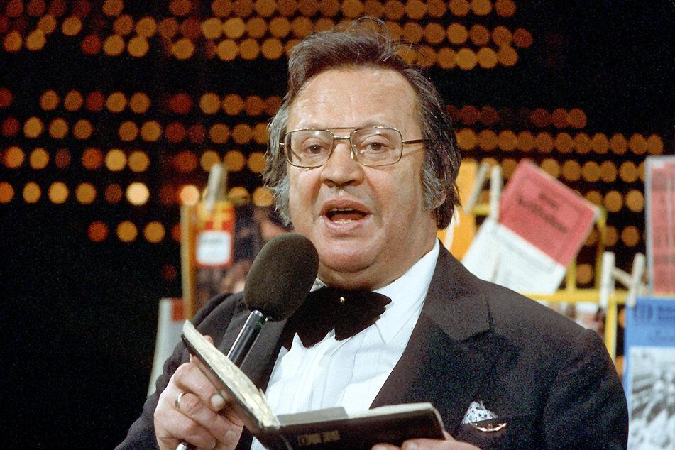 """Unvergessen: O.F. Weidling im Jahr 1984 in der DDR-Unterhaltungssendung """"Ein Kessel Buntes"""". (Archivbild)"""