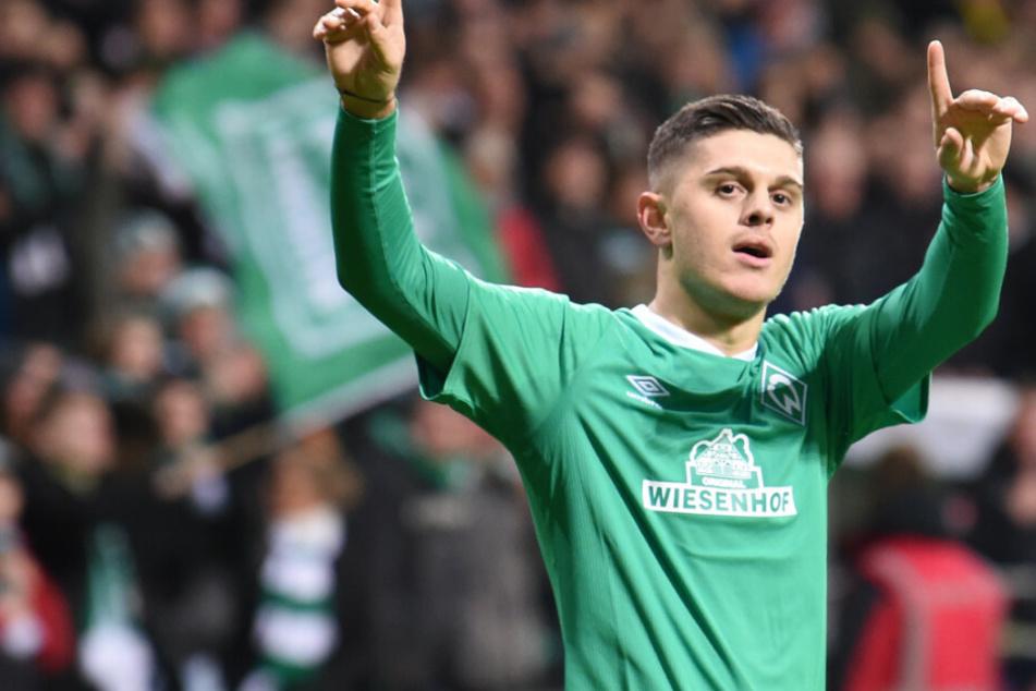 Milot Rashica wird Werder Bremen nach der Saison verlassen.