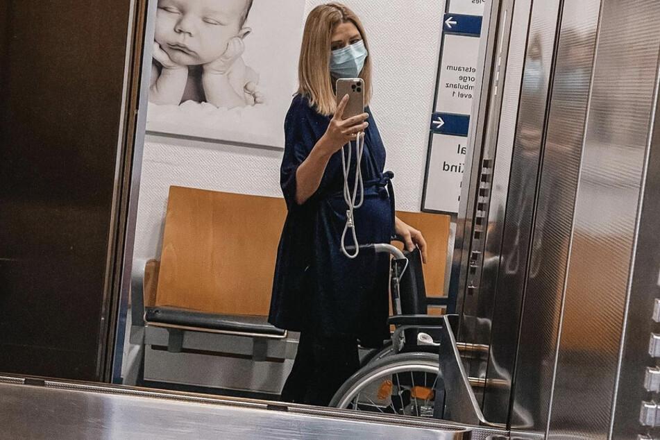 Eine Woche Zwillings-Mama: Tanja Szewczenko pendelt zwischen Zimmer und Frühchenstation