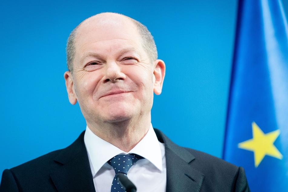 Olaf Scholz (62, SPD), Bundesminister der Finanzen.