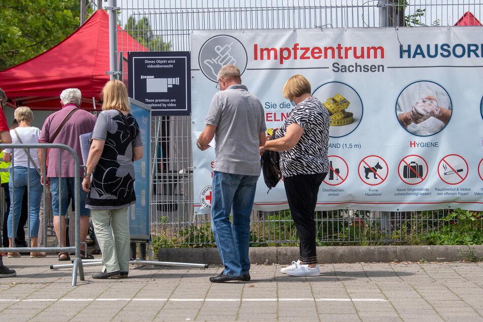 Momentan nicht voll ausgelastet: die sächsischen Impfzentren. Das dürfte sich ändern, wenn im Herbst die Infektionszahlen wieder steigen.