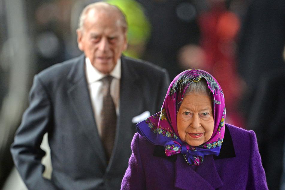 Die britische Königin Elizabeth II. (94) und ihr Ehemann Philip (99), der Herzog von Edinburgh, wurden am Samstag gegen das Coronavirus geimpft. (Archivbild)