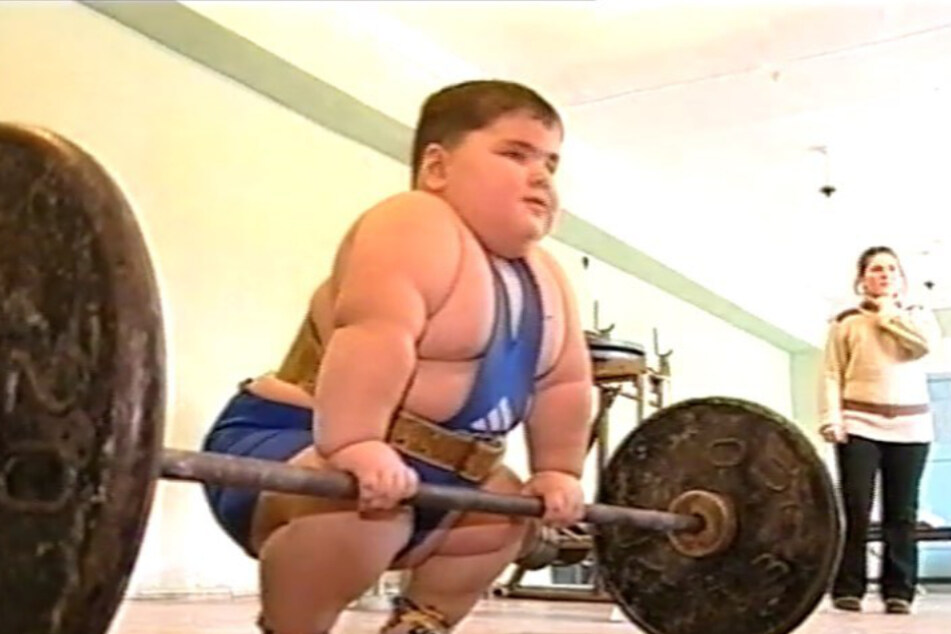 Even as a child, Dzhambulat Khatokhov (✝21) participated in weightlifting competitions.