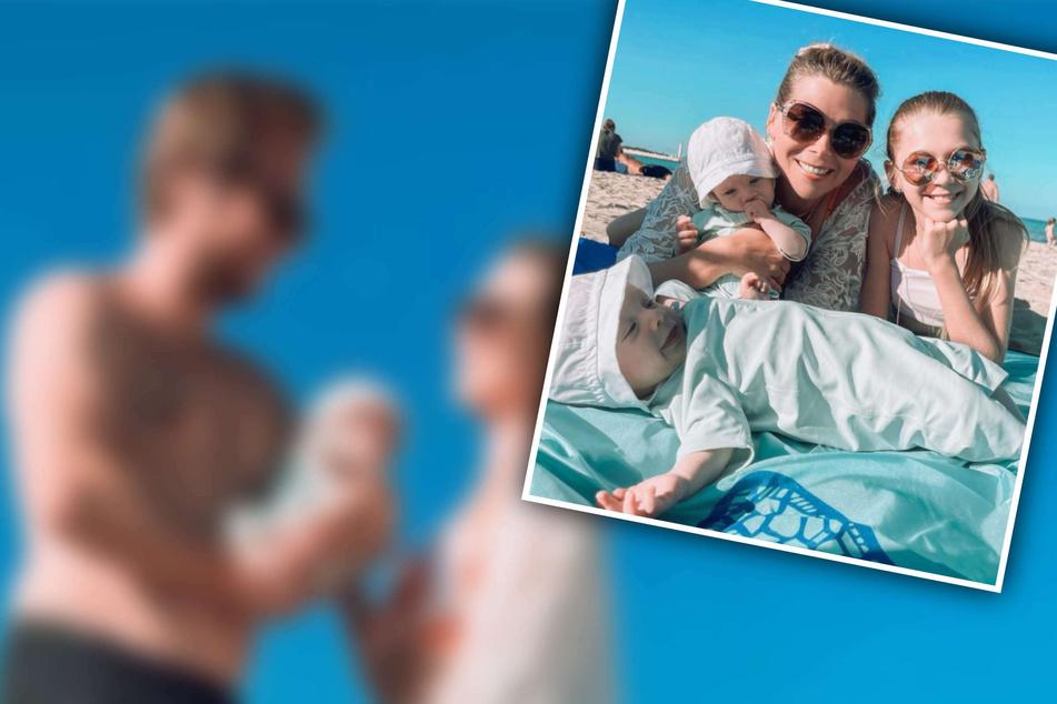 Strandtag mit den Kids: Tanja Szewczenko teilt niedliche Urlaubsbilder