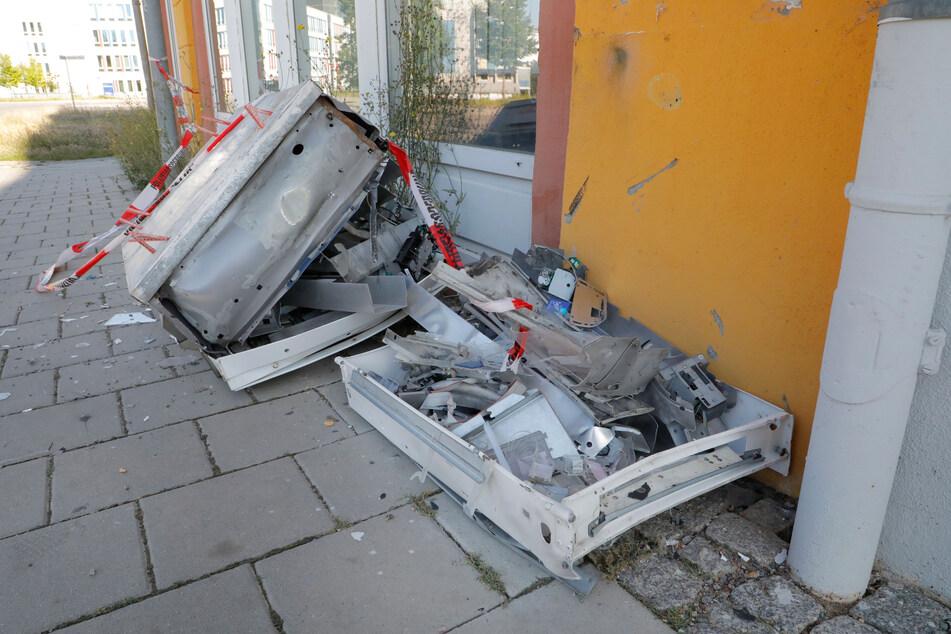Auf dem Sonnenberg wurde in der Nacht zu Donnerstag ein Zigarettenautomat gesprengt.