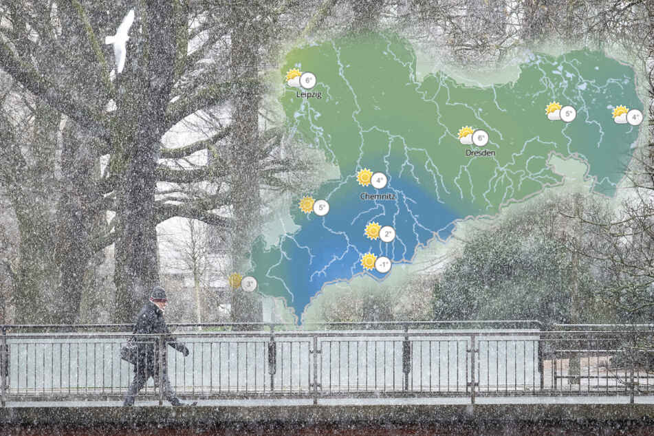 Schnee im Frühling: So wird das Sachsen-Wetter