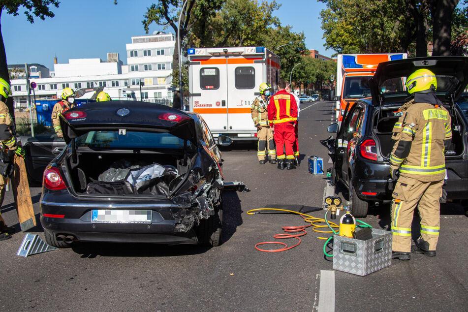 Drei Verletzte nach Auffahrunfall in Mariendorf