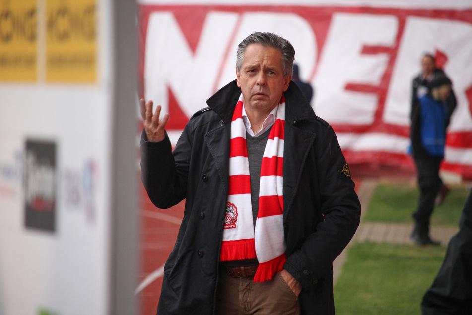 Von 2006 bis 2018 war Rolf Rombach (67) Präsident bei Rot-Weiß Erfurt.