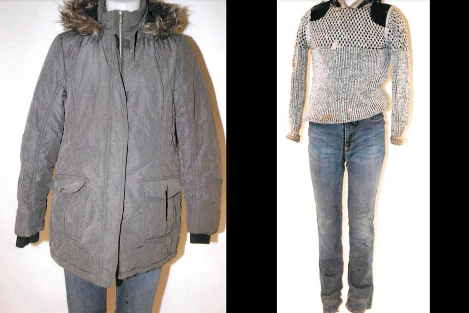 Die Winterjacke samt Pullover und Hose der Toten.