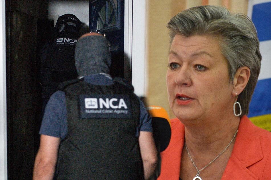 Kurznachrichten-Dienst entschlüsselt: Ermittler nehmen rund 1800 Schwerverbrecher fest