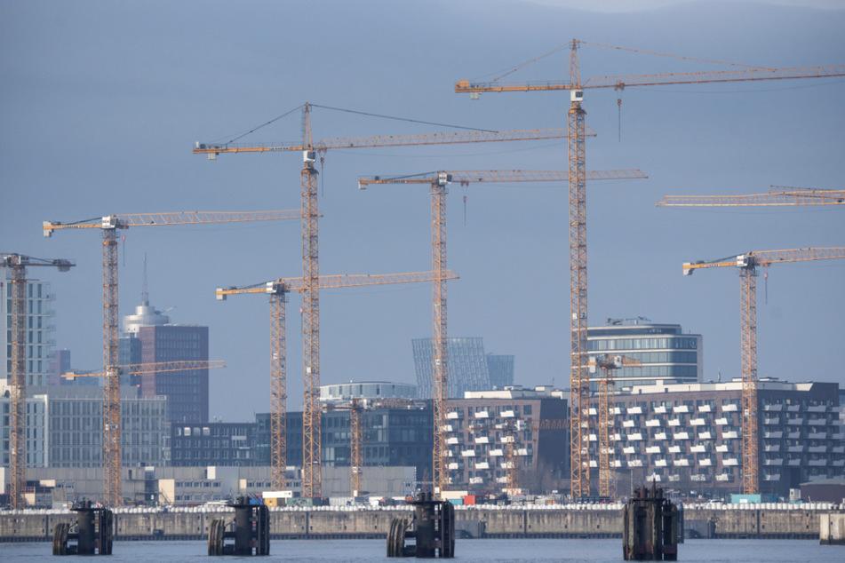 Jährlich sollen 10.000 neue Wohnungen in Hamburg gebaut werden. (Archivbild)