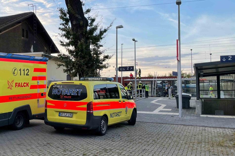 """Am Bahnhof in Niesky kam es am Dienstagabend zu einem sogenannten """"Stromunfall""""."""