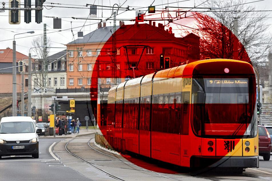 Jetzt geht's los! Großenhainer Straße wird zur Staustrecke