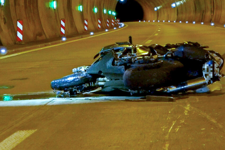 Motorrad-Unfall in Unterfranken: Biker schwer verletzt