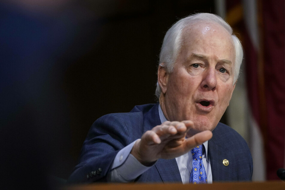Sen. John Cornyn made a comment about the humane treatment of migrants seeking asylum at the border.