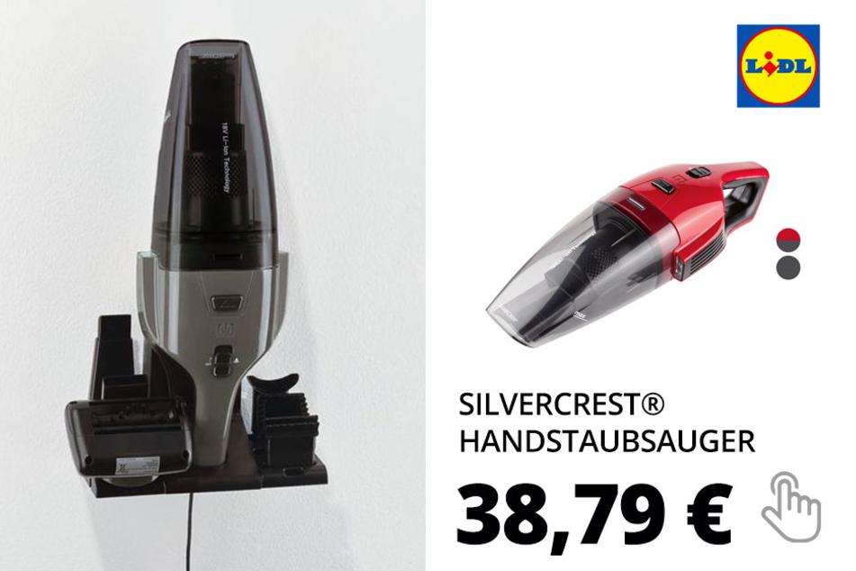SILVERCREST® Handstaubsauger »SAST 18 A1«, mit Bürste