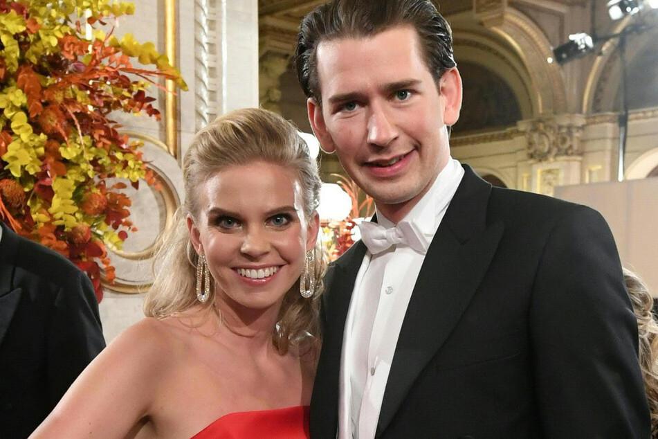 Kanzler Sebastian Kurz (34) mit seiner Freundin Susanne Thier 2019 auf dem Wiener Opernball.