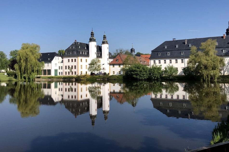 Das Landwirtschaftsmuseum im Schloss Blankenhain in Crimmtischau.