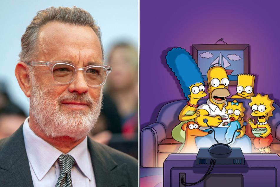 """Tom Hanks hatte 2007 in """"Simpsons-Der Film"""" einen Gastauftritt."""