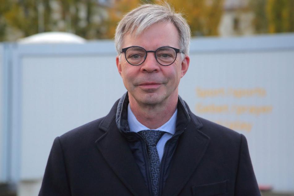 Walter Bürkel (59), Vizepräsident der Landesdirektion Sachsen, hat die Pläne gestern vorgestellt.
