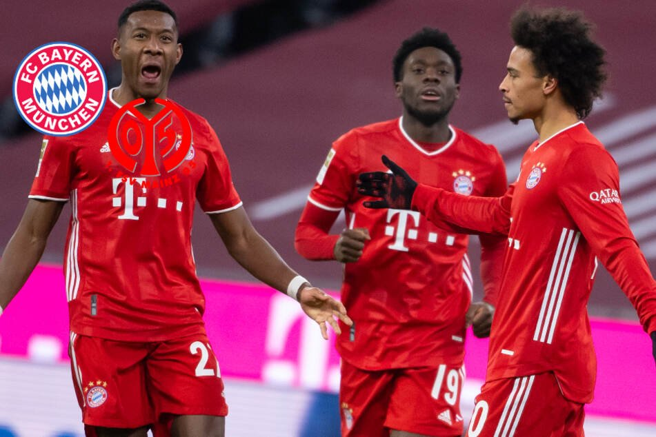 Blamage vor Augen: FC Bayern dreht gnadenlos auf und schlägt bissigen FSV Mainz