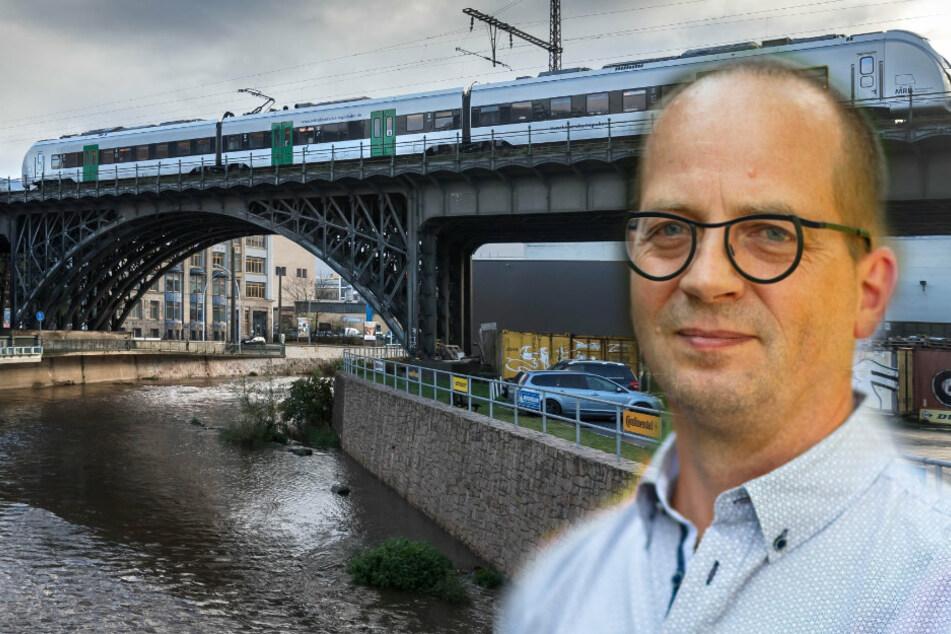 Chemnitz: Chemnitzer Viadukt braucht doch keine Lärmschutzwand