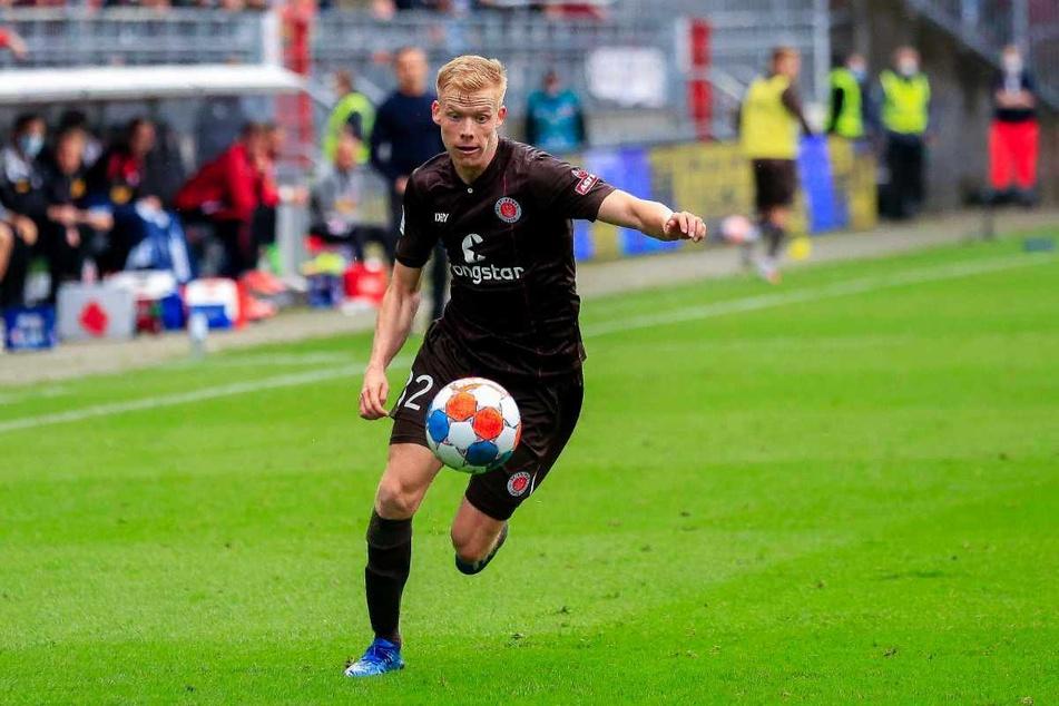 Jannes Wieckhoff (21) überzeugt beim FC St. Pauli mit seinem Offensivdrang.