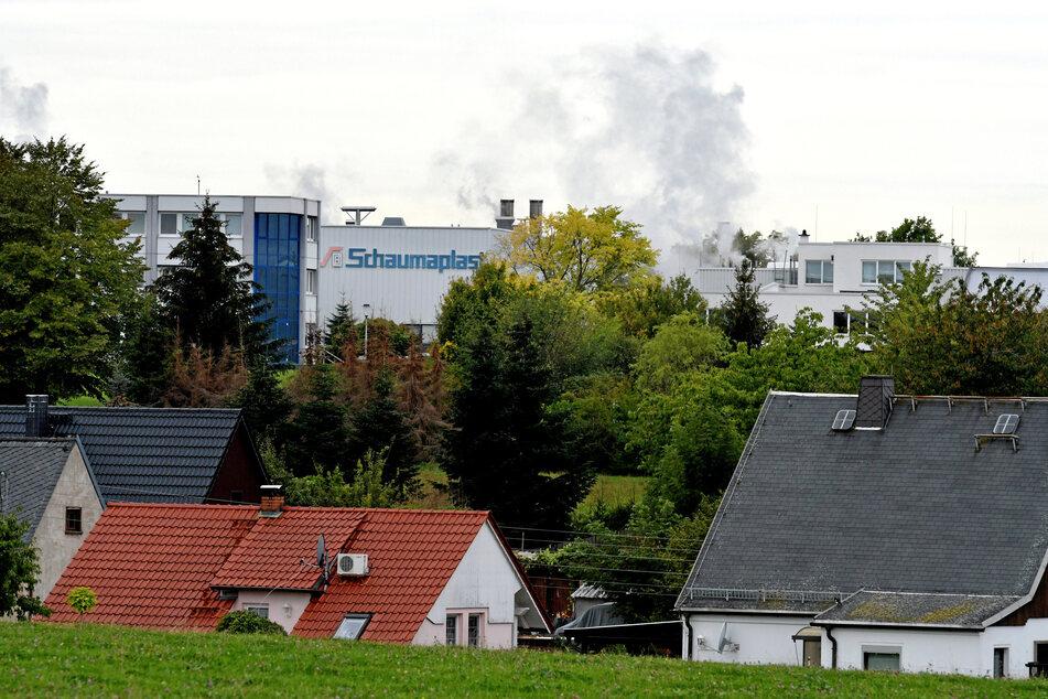 Das Werk befindet sich in unmittelbarer Nähe zu Wohnhäusern.