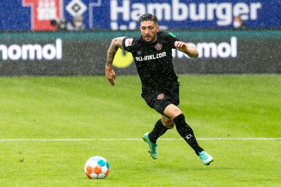 Pechvogel: Brandon Borrello (26) brach sich nach dem Pokalspiel gegen Paderborn den Mittelfuß. Vorher überzeugte er.