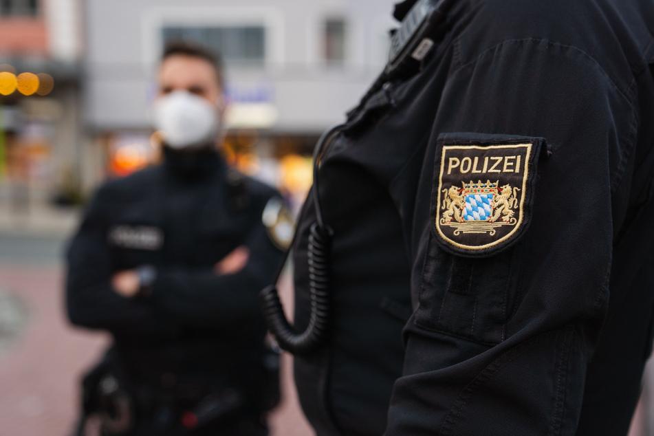 Die Polizei musste in Neubiberg in Bayern ausrücken. (Symbolbild)