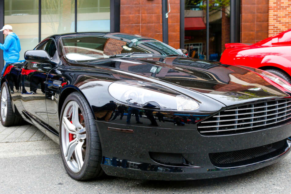 The Aston Martin was left in a no-parking zone for days (stock image).