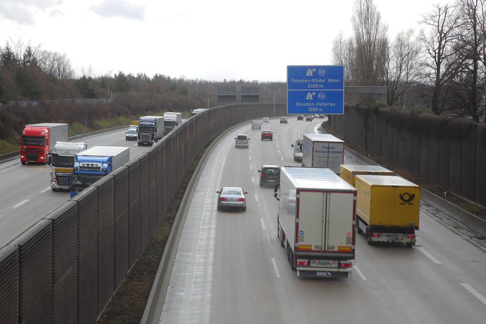 Das Sonntagsfahrverbot für LKW durch Sachsen wird vorübergehend ausgesetzt.
