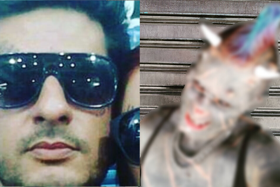 Devil in disguise: man has nose removed to look like Satan