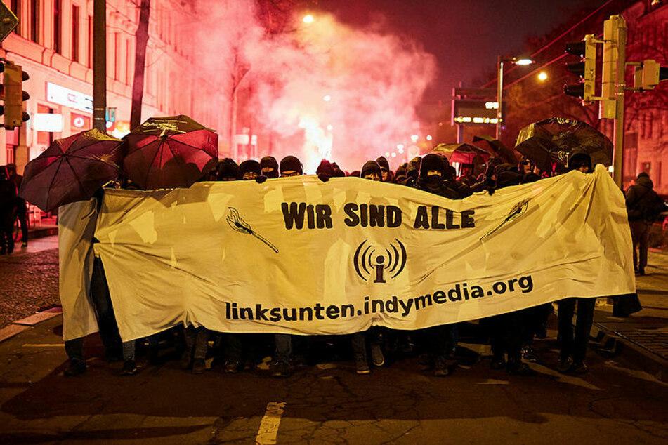 """Leipzig: Anklage wegen brutalen Angriffs auf Journalisten bei """"Indymedia""""-Demo"""