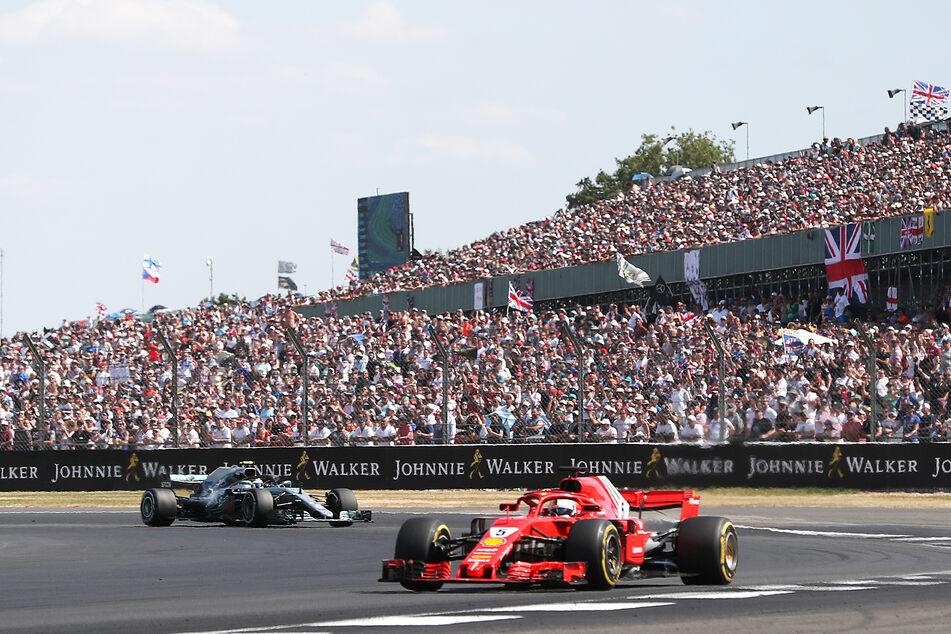 Volle Ränge in Silverstone: Die Rennstrecke in Großbritannien ist die erste komplett ausverkaufte in der aktuellen Formel-1-Saison. (Archivbild)