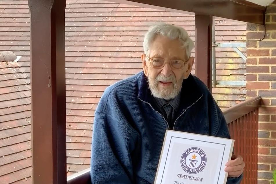 Die Welt hat einen neuen ältesten Mann, doch die große Feier fällt leider aus