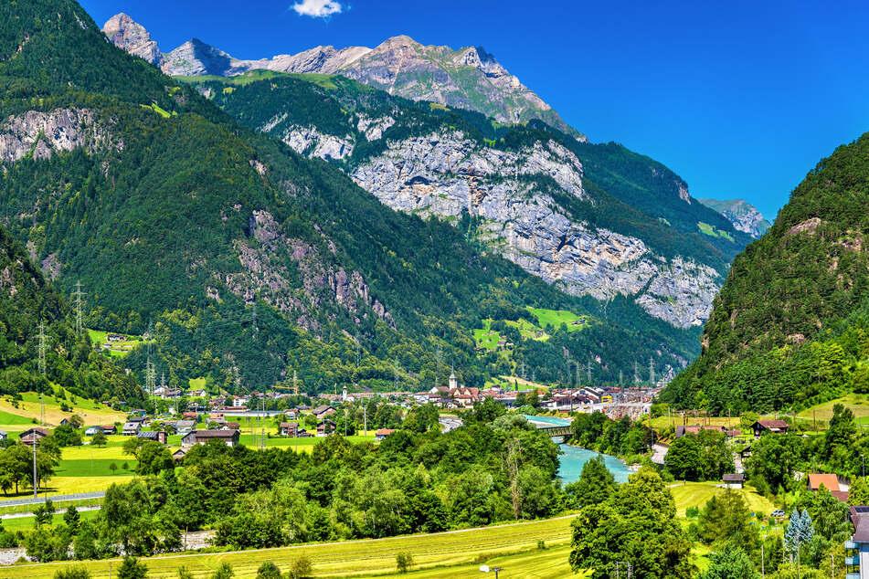 Ansicht von Erstfeld im Kanton Uri/Schweiz. (Archivbild)