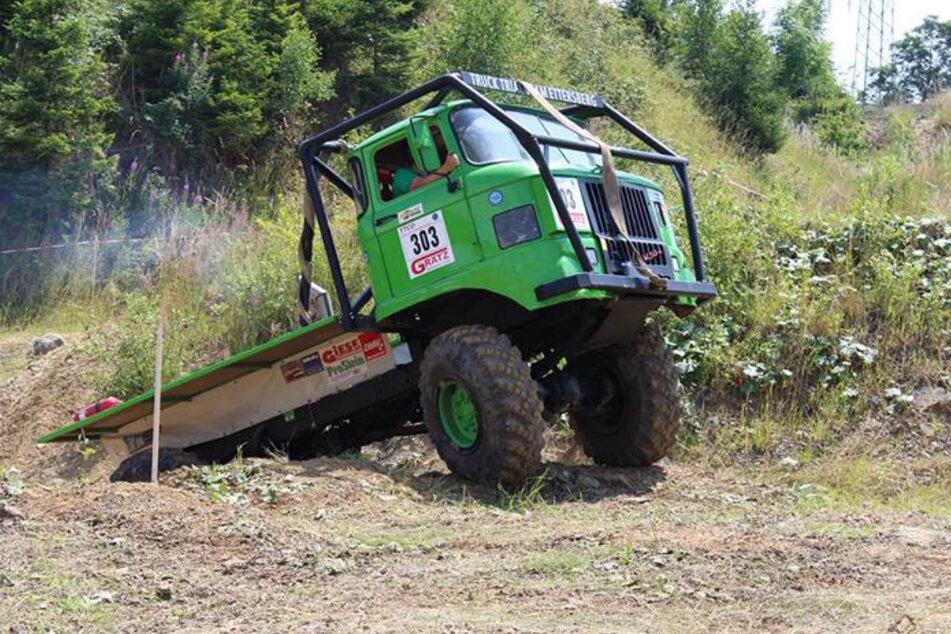 Die Truck Trial Meisterschaft ist auch nur als Gast ein Besuch wert.