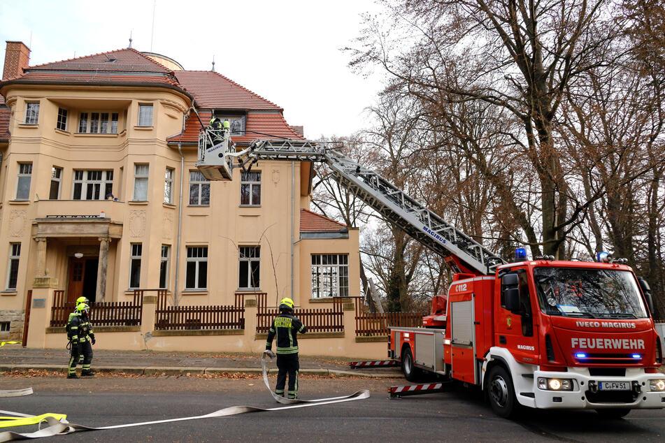 Chemnitz: Ein Verletzter bei Dachstuhlbrand in Chemnitz
