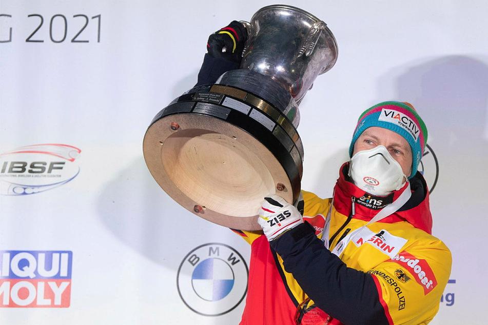 Wie sein Vorbild Schumacher! Francesco Friedrich holt den 7. Zweier-Titel