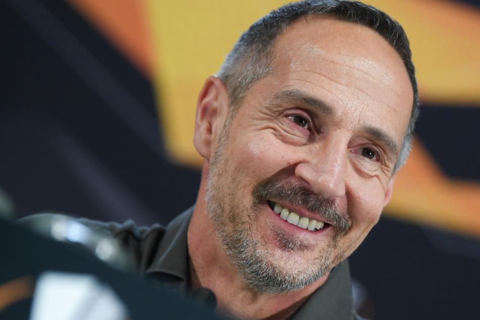 intracht Frankfurts Trainer Adi Hütter (50). (Archivbild)
