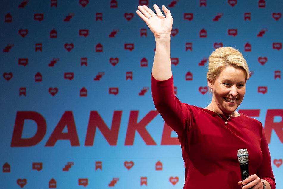 Die SPD schnappt sich mit Spitzenkandidatin Franziska Giffey (43) den Gesamtsieg bei der Berlin-Wahl.