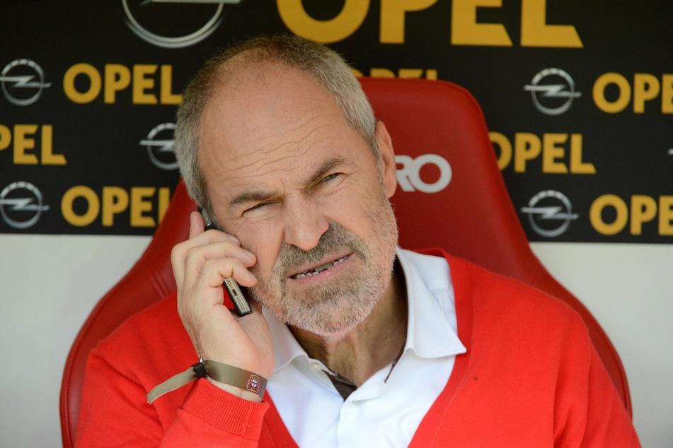Der ehemalige Bundesliga-Manager Wolfgang Holzhäuser.