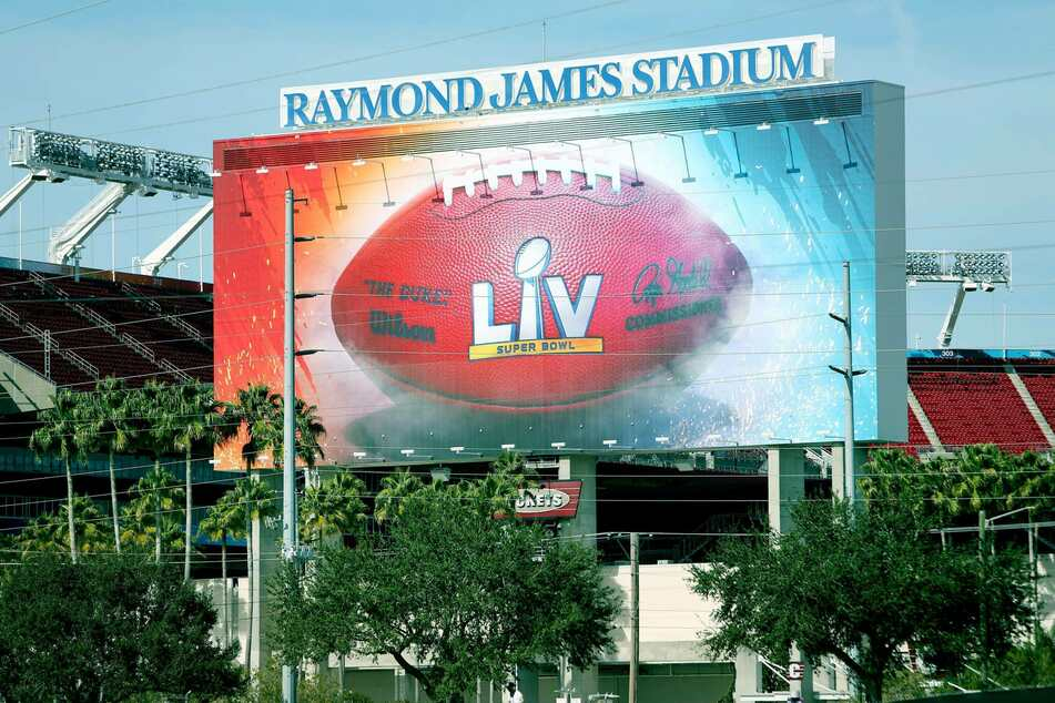 The Super Bowl will be held at Raymond James Stadium, the home field for the Tampa Bay Buccaneers