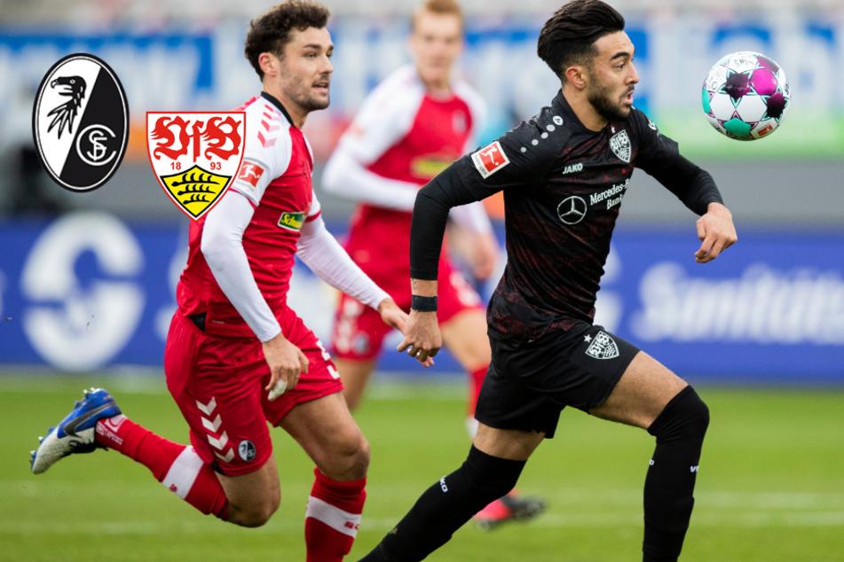 Schwaben-Schlappe! VfB Stuttgart muss sich beim SC Freiburg geschlagen geben