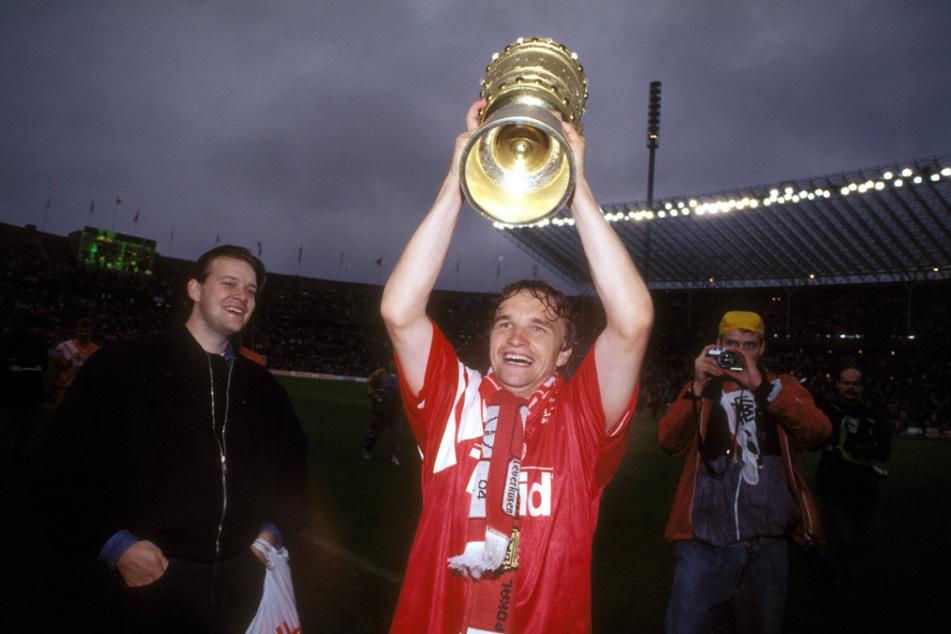 Mit Bayer Leverkusen holte Heiko Scholz 1992 den DFB-Pokal.